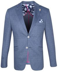 Guide London Guide Knitted Stretch Jacket , Colour: - Blue