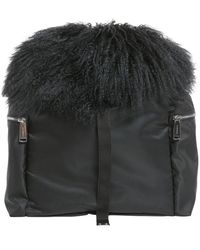 DSquared² Hiking Mountain Backpack - Black