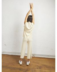 ALIGNE Caius Knit Culottes , - White