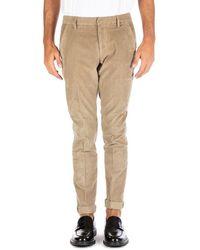 Dondup Gaubert Pantalone Beige - Brown