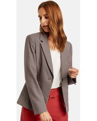 Gerry Weber Blazer With Houndstooth Pattern - Multicolor