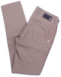 PT Torino - Trousers Regular Men Mud - Lyst