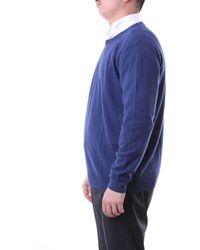 Della Ciana Light Crewneck Sweater - Blue