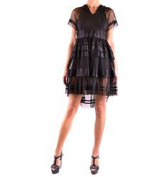 Philosophy Mini Dress In - Black