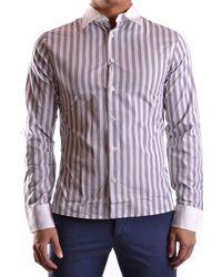 Dirk Bikkembergs Shirt Pt3086 - White