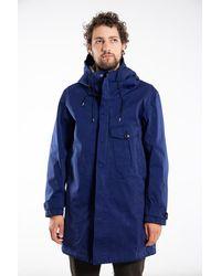C.P. Company Ten-c Coat / Cyclone Parka / Aqua - Blue