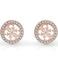 Guess Tropical Sun Earrings - Pink