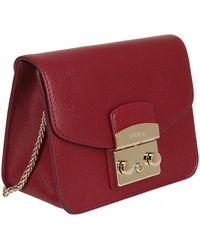 Furla - Cross Body Bag In Red - Lyst