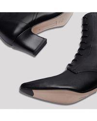 Miista - Zelie Black Leather Boots - Lyst