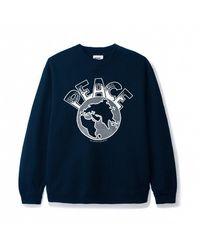 Butter Goods Peace Sweatshirt - Navy - Blue