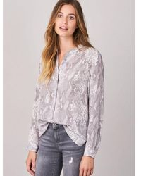 Repeat Cashmere Outlet Silk Snake Print - Grey