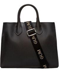 Gum Handbag Shopper Big Re - Black