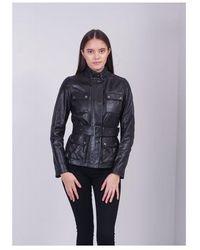 Belstaff Triumph 2.0 Leather Colour: Black