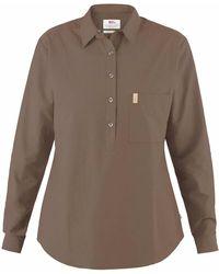 Fjallraven Fjallraven Kiruna Lite Shirt Dark Sand - Brown