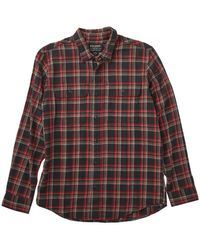 Filson Scout Shirt Black / Red / Brown Plaid