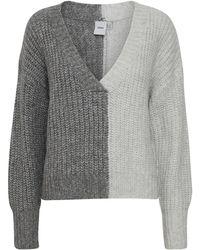 Ichi Maddox Knit - Grey