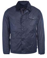 5137d08c4c2ad Barbour International Steve Mcqueen Rectifier Jacket in Blue for Men ...
