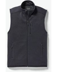 Filson Ridgeway Fleece Vest - Dark Navy - Blue