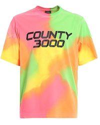 Marcelo Burlon Multi Coloured T-shirt - Multicolour