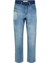 Munthe Reeta Jeans Blauw 213-1413-21307-36 - Blue