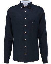 Fynch-Hatton Fynch-hatton Shirts Fyn .11216030 Nvy.11216030 - Black