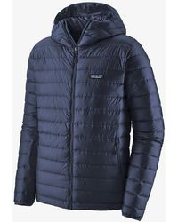 Patagonia Down Sweater Hoody Jacket - Classic Navy - Blue
