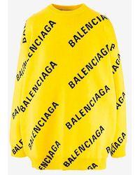 Balenciaga Sweaters - Yellow