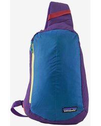 Patagonia Ultra Light Black Hole Sling Backpack - Purple Patchwork