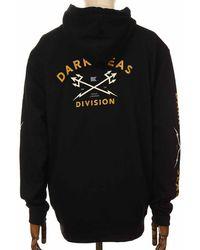 Dark Seas Headmaster Hooded Sweatshirt - Medium, - Black