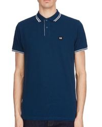 Weekend Offender Viverno Polo - Dragonfly - Blue