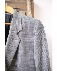 J.Lindeberg - Delano Grey Wool Blazer - Lyst