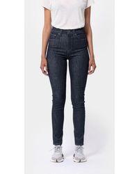 Nudie Jeans Jeans • Hightop Tilde • Dark Navy - Blue