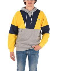 adidas Color Cotton Sweatshirt - Multicolor