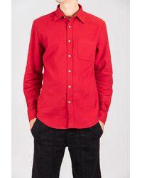 Portuguese Flannel Shirt / Teca / Red
