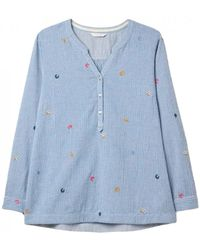 White Stuff Ladies Stormly Shirt - Blue
