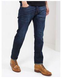 Scotch & Soda Scotch & Soda Ralston Indigo Slim Jeans Colour: Beaten Back - Blue