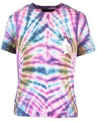 Amiri Women's Y0w03453cj Multicolour Cotton T-shirt