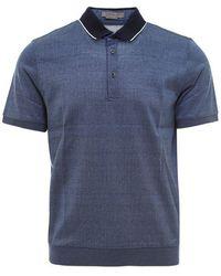 Corneliani - Cotton Polo Shirt - Lyst