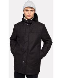 RVLT Revolution | 7683 Parka Jacket | - Black