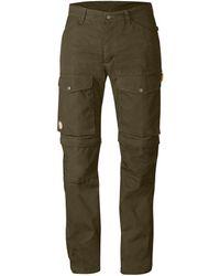 Fjallraven Fjallraven Gaiter Pants No. 1 Dark Olive - Green