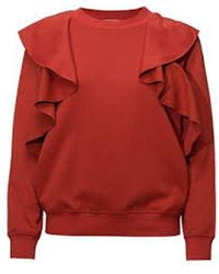 Sportmax Code Ghiotto Frill Sweat - Red
