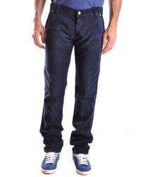 Roy Rogers Roy Roger's Men's Mcbi27259 Blue Cotton Trousers