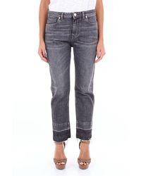 Pt05 Jeans Boyfriend Dark Grey