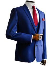 Remus Uomo Luca French Blue Suit Jacket