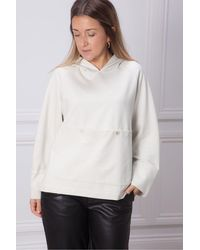 5preview Zaphir Hooded Sweat With Front Pocket - Multicolor