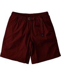Atterley Gramicci Weather Nn Shorts - Wine - Purple