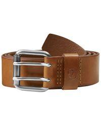 Fjallraven Fjallraven Singi Two-pin Belt Leather Cognac - Brown