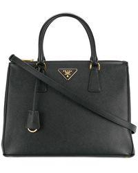 Prada Women's 1ba274vdoonzvf0002 Black Leather Handbag