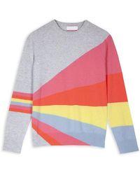 Cocoa Cashmere Sinead Sweater - Multicolor
