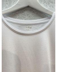 Basler Royal White Round Necked T Shirt 2201700704